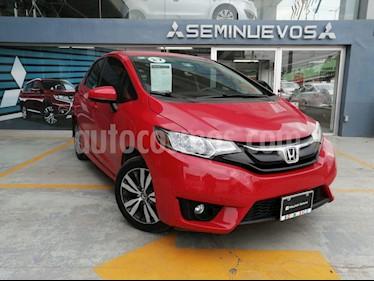 Honda Fit Hit 1.5L Aut usado (2017) color Rojo precio $205,000