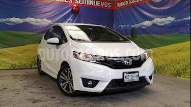Honda Fit 5P HB HIT CVT BL F. NIEBLA RA-16 usado (2015) color Blanco precio $188,000