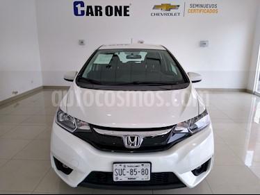 Honda Fit EX 1.5L CVT usado (2017) color Blanco precio $235,000