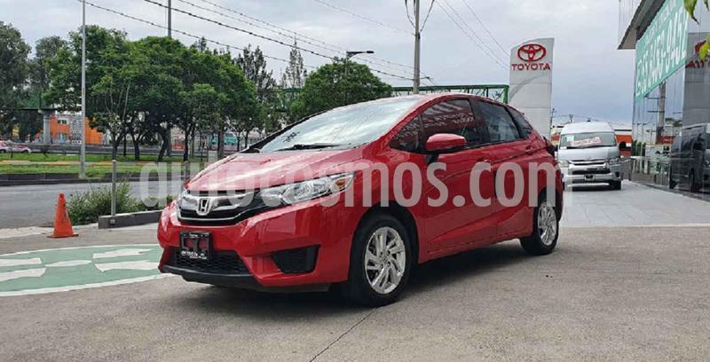 Honda Fit Fun 1.5L usado (2015) color Rojo precio $169,000