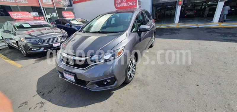 Foto Honda Fit Hit 1.5L Aut usado (2018) color Acero precio $245,000