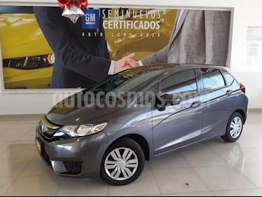 Honda Fit 5P COOL L4/1.5 MAN usado (2017) color Gris precio $195,900