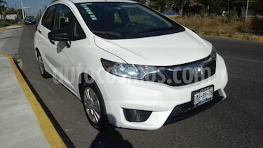 Honda Fit 5P COOL L4/1.5 MAN usado (2015) color Blanco precio $155,000