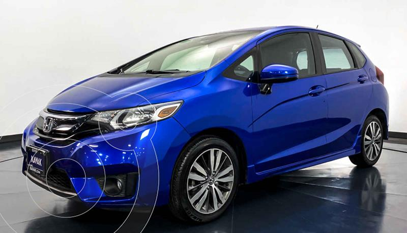 Honda Fit Hit 1.5L Aut usado (2015) color Azul precio $182,999