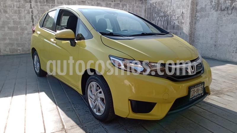 Honda Fit Fun 1.5L usado (2016) color Amarillo precio $180,000