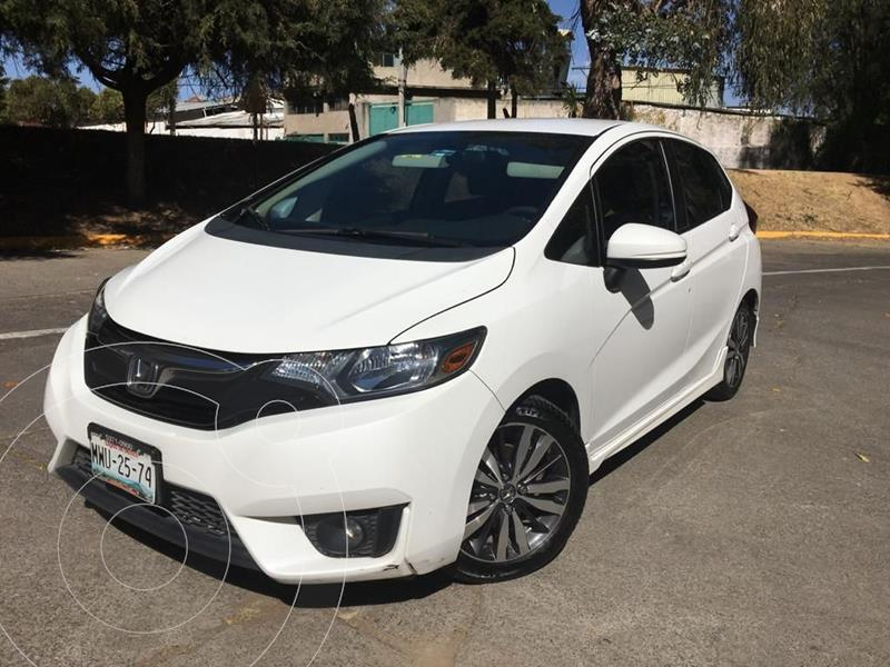 Honda Fit Hit 1.5L Aut usado (2016) color Blanco precio $185,000