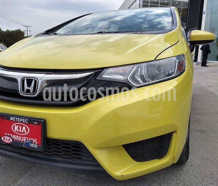 Honda Fit Fun 1.5L usado (2016) color Amarillo precio $174,900