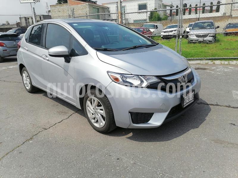 Honda Fit Fun 1.5L usado (2015) color Plata Dorado precio $149,000
