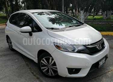 Honda Fit 5P HB HIT CVT BL F. NIEBLA RA-16 usado (2016) color Blanco precio $192,000