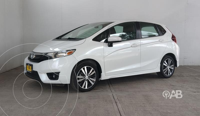 Foto Honda Fit EX 1.5L CVT usado (2017) color Blanco precio $221,000