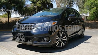 Honda Fit 5P HB HIT CVT BL F. NIEBLA RA-16 usado (2019) color Negro precio $286,000