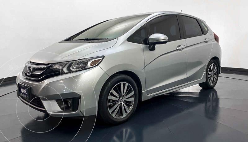 Honda Fit Hit 1.5L Aut usado (2015) color Plata precio $179,999