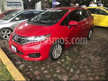 Honda Fit Fun 1.5L Aut usado (2018) color Rojo precio $230,000