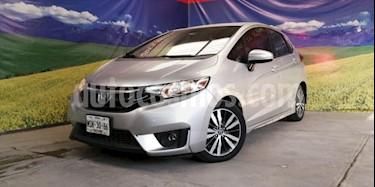 Honda Fit 5P HB HIT CVT BL F. NIEBLA RA-16 usado (2015) color Plata precio $185,000