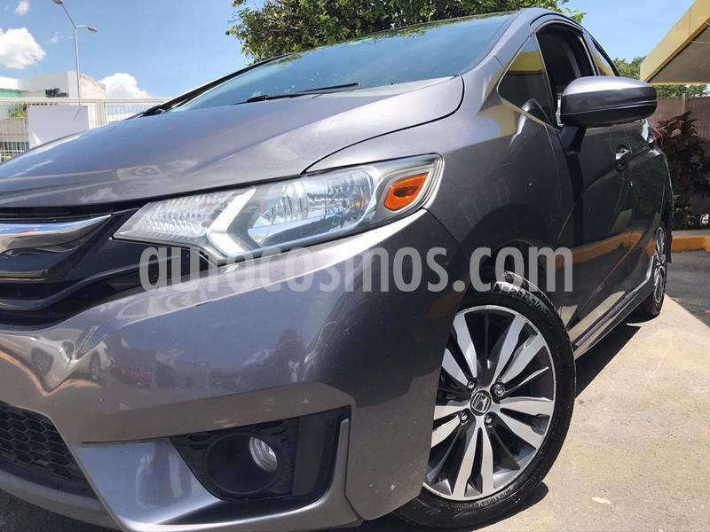 Honda Fit Hit 1.5L Aut usado (2017) color Gris precio $205,000