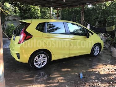 Honda Fit Fun 1.5L Aut usado (2015) color Verde precio $158,000