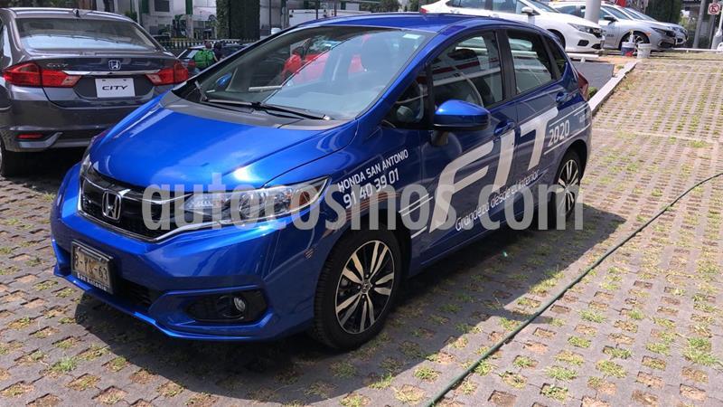 Honda Fit Hit 1.5L Aut usado (2020) color Azul Deportivo precio $288,000
