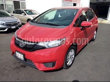Honda Fit Fun 1.5L usado (2016) color Rojo precio $180,000