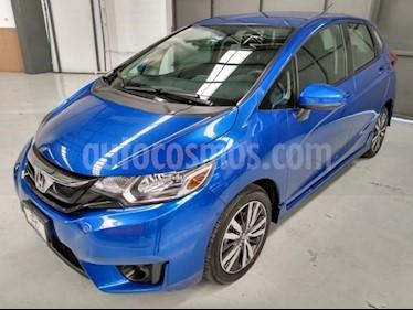 Honda Fit 5P HB HIT CVT BL F. NIEBLA RA-16 usado (2016) color Azul precio $187,900