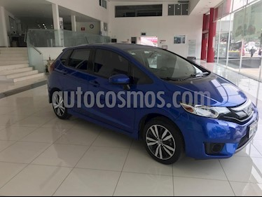 Honda Fit Hit 1.5L Aut usado (2017) color Azul precio $205,000