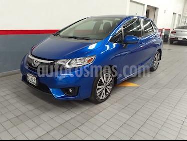 Honda Fit EX 1.5L CVT usado (2016) color Azul precio $198,000