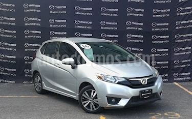 Honda Fit Hit 1.5L Aut usado (2016) color Plata Diamante precio $197,000