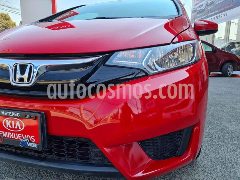 Honda Fit Fun 1.5L usado (2016) color Rojo precio $169,900