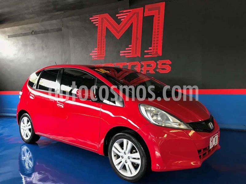 Honda Fit EX 1.5L CVT usado (2014) color Rojo precio $136,900