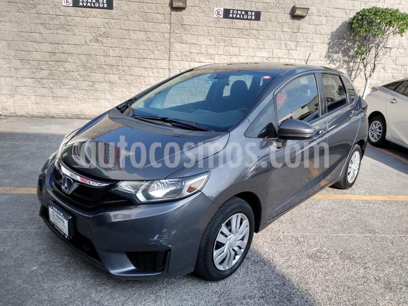 Honda Fit Cool 1.5L usado (2017) color Gris Oscuro precio $186,000