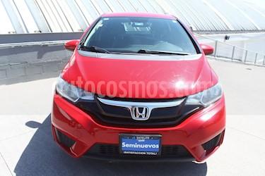 Honda Fit Fun 1.5L usado (2015) color Rojo precio $139,000