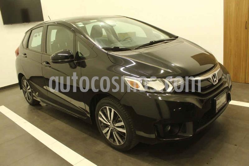 Honda Fit Hit 1.5L Aut usado (2017) color Negro precio $189,000