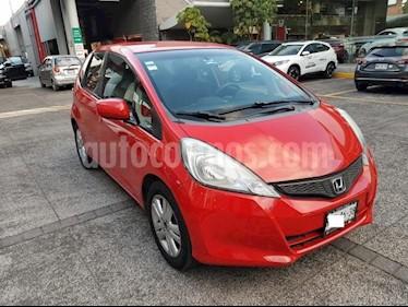 Honda Fit 5P HB EX CVT VOLANTE EN PIEL CONTROL D/AUDIO USB  usado (2013) color Rojo precio $122,000