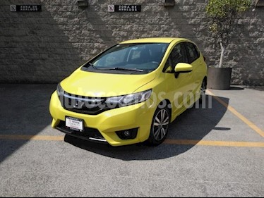 Honda Fit 5P HB HIT CVT BL F. NIEBLA RA-16 usado (2015) color Amarillo precio $162,000