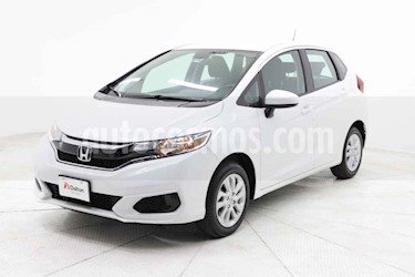 Honda Fit 5p Fun L4/1.5 Man usado (2019) color Blanco precio $249,000