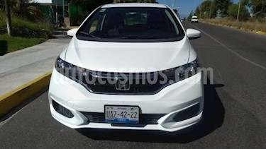 Honda Fit 5p Fun L4/1.5 Man usado (2018) color Blanco precio $215,000