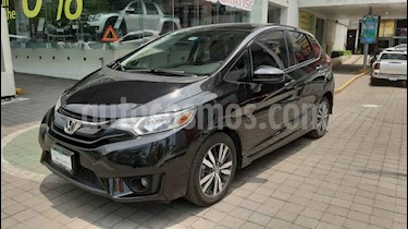 Honda Fit 5p Hit L4/1.5 Aut usado (2017) color Negro precio $209,000
