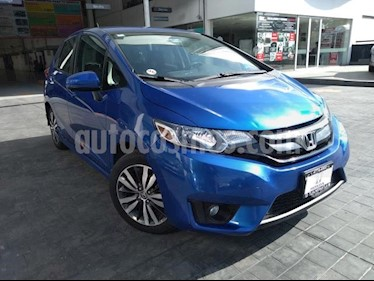 Honda Fit 5P HB HIT CVT BL F. NIEBLA RA-16 usado (2017) color Azul precio $208,000