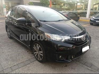 Honda Fit 5P HB HIT CVT BL F. NIEBLA RA-16 usado (2017) color Negro precio $235,000