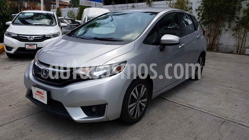 Honda Fit Hit 1.5L Aut usado (2015) color Plata precio $159,000