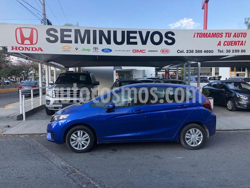 Honda Fit Cool 1.5L usado (2017) color Azul precio $175,000