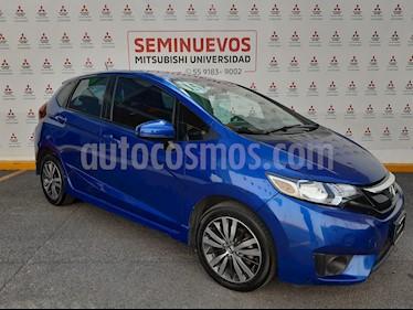 Foto Honda Fit Hit 1.5L Aut usado (2015) color Azul precio $185,000