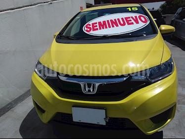 Honda Fit Fun 1.5L usado (2015) color Naranja precio $165,000