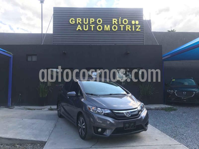 Honda Fit Hit 1.5L Aut usado (2017) color Gris precio $199,000