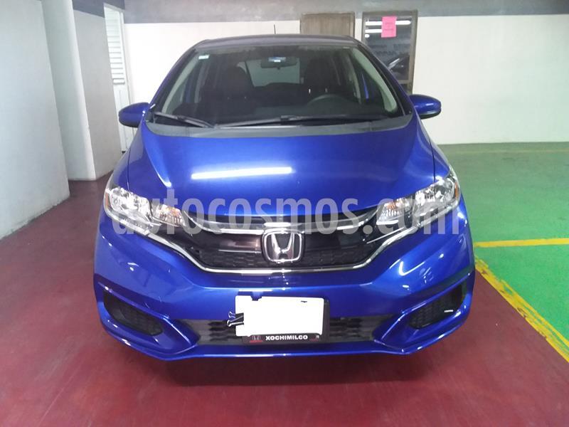 Honda Fit Fun 1.5L Aut usado (2018) color Azul precio $210,000