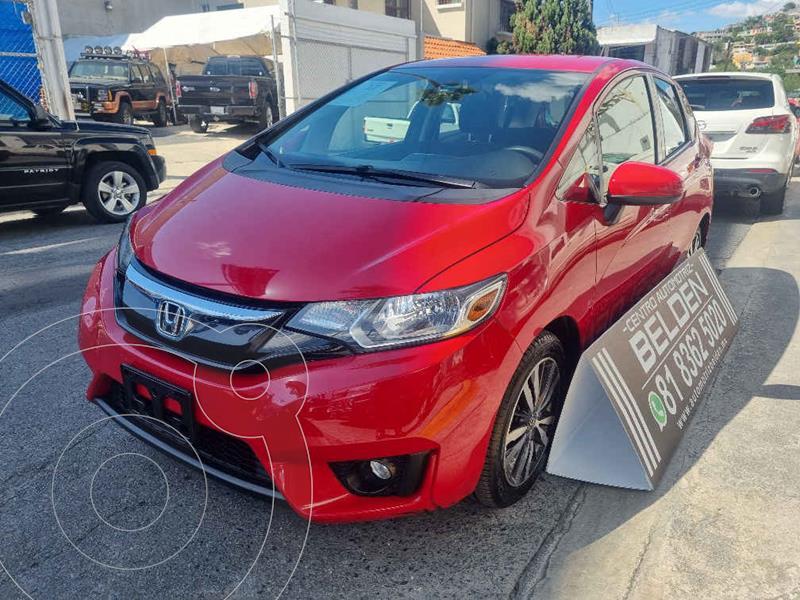 Foto Honda Fit Hit 1.5L Aut usado (2017) color Rojo precio $228,000