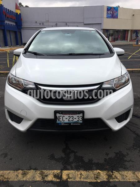 Honda Fit Fun 1.5L usado (2017) color Blanco precio $190,000