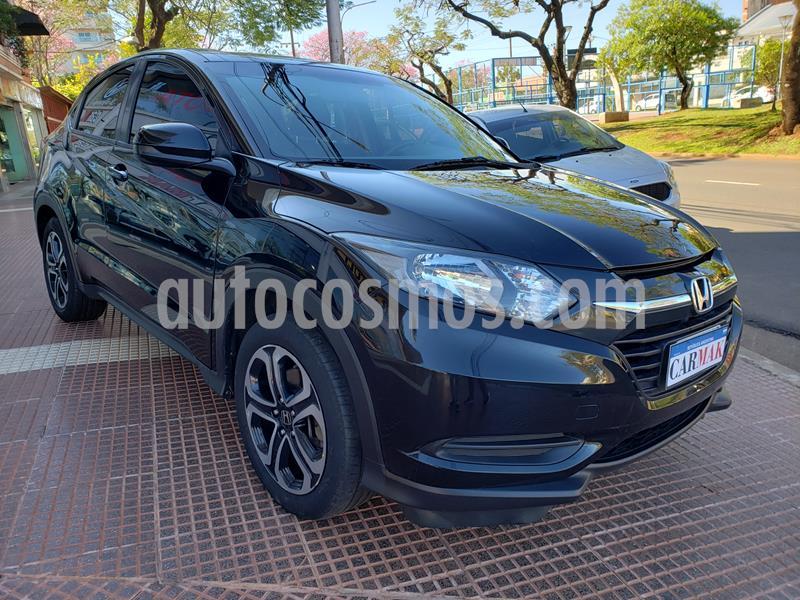 Honda HR-V LX 4x2 CVT usado (2015) color Negro precio $1.480.000