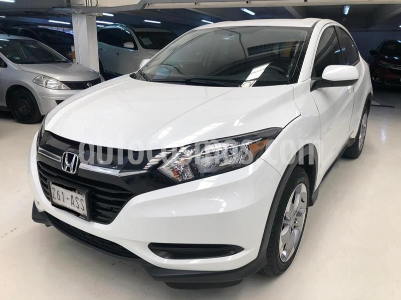 Honda HR-V Uniq usado (2018) color Blanco precio $299,100