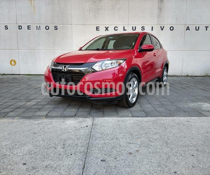 Honda HR-V Uniq usado (2016) color Rojo precio $255,000