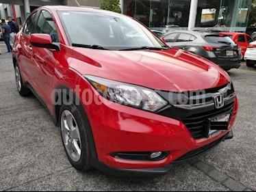 Honda HR-V 5P EPIC CVT QC F. NIEBLA RA-17 usado (2017) color Rojo precio $319,000